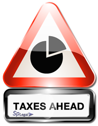 traffic sign Future taxes related to your property in Spain